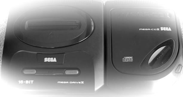 Sega Mega CD2 et Megadrive 2