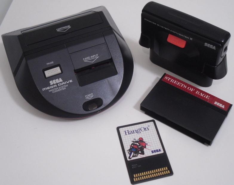 Master System Converter 1 et 2 Sega