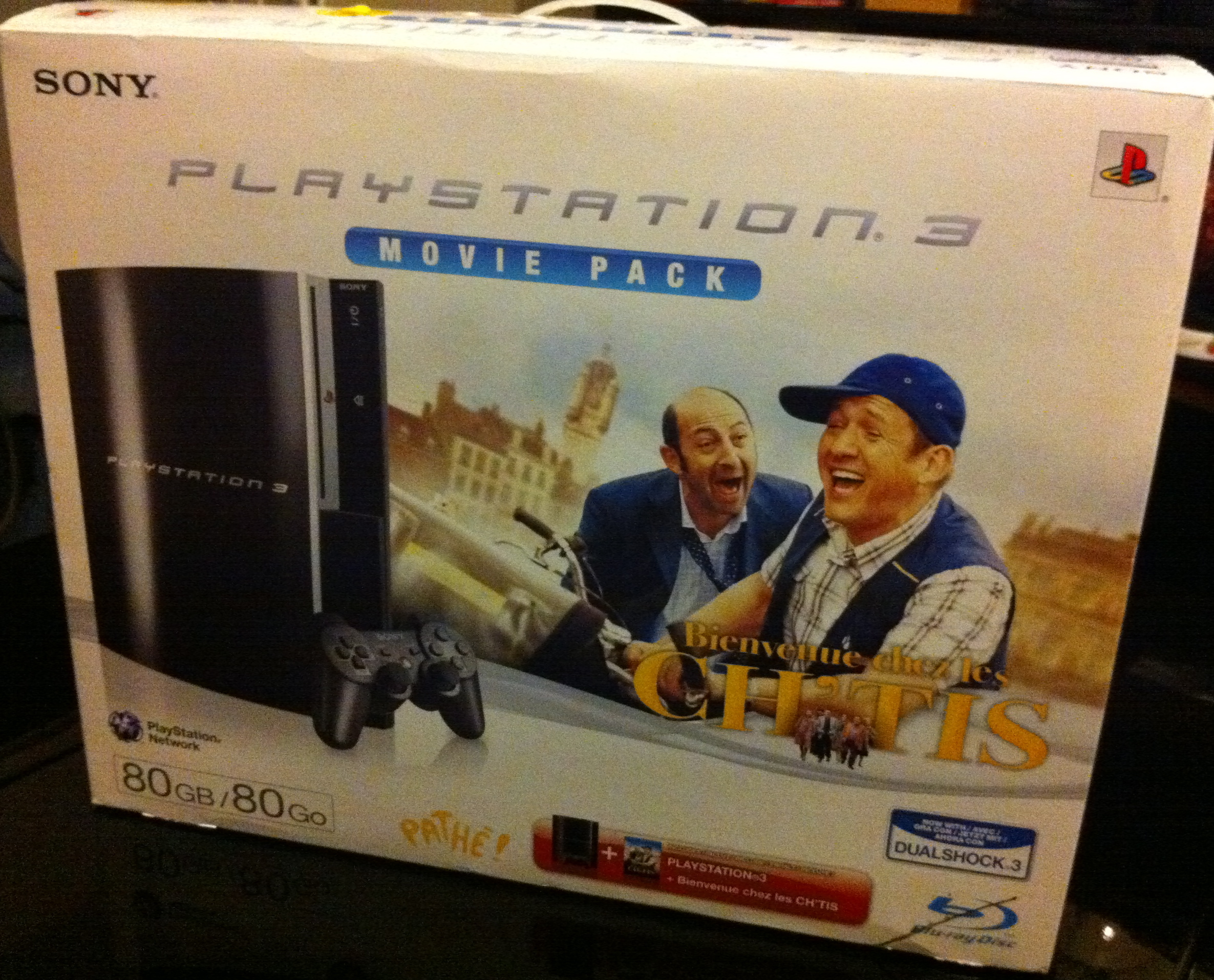 Playstation 3 Sony pack Ch'tis 80 Go