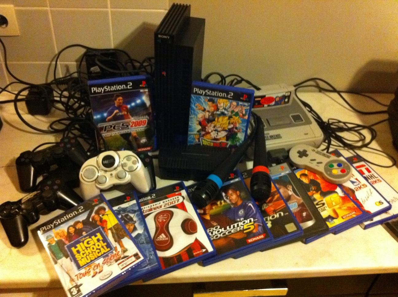 Arrivage consoles et jeux