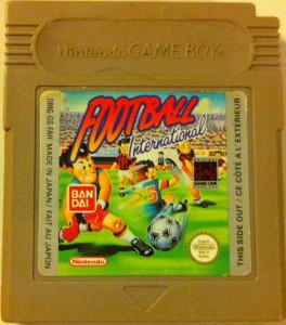 Football International Nintendo Game Boy