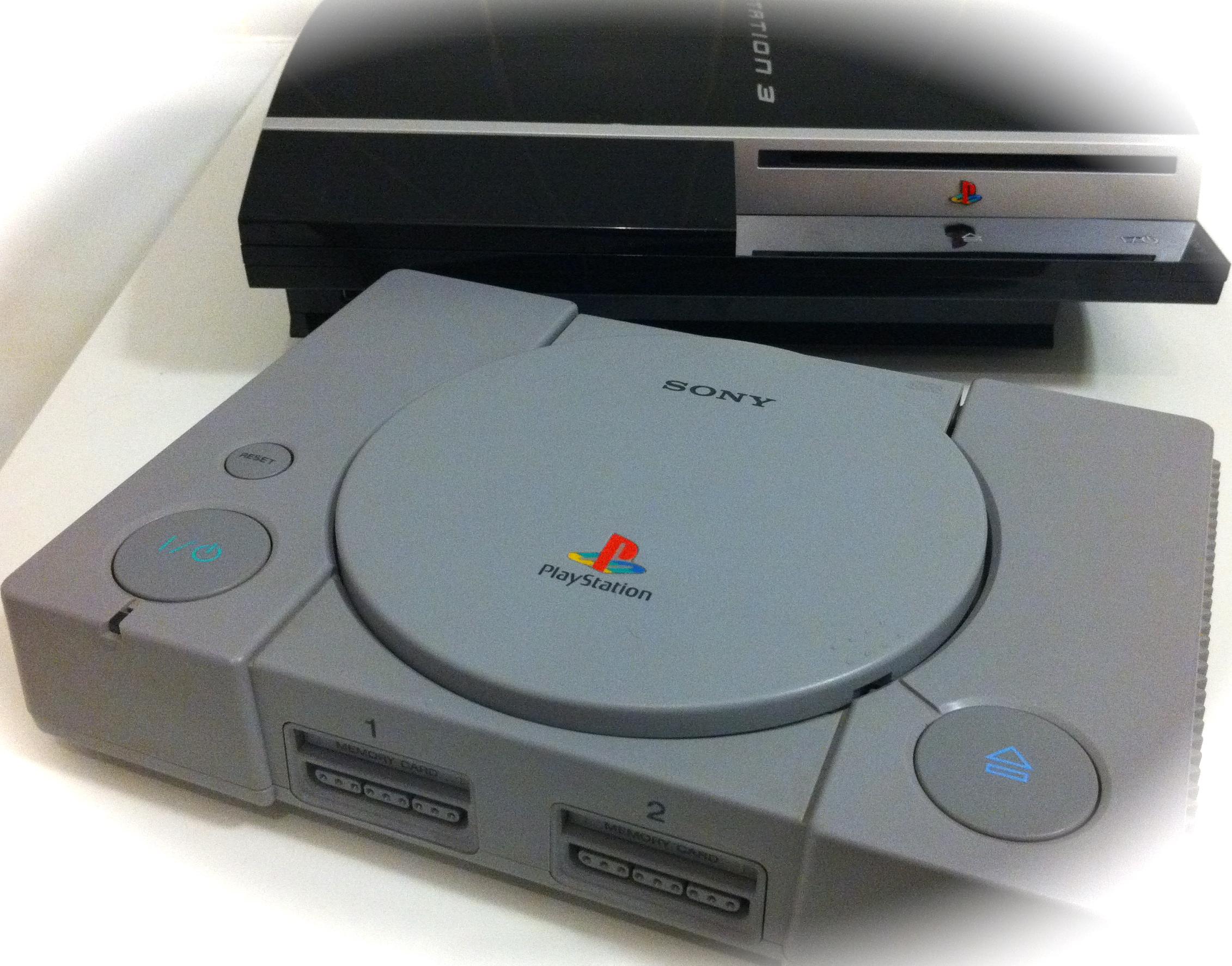 Playstation 1 et 3 de Sony