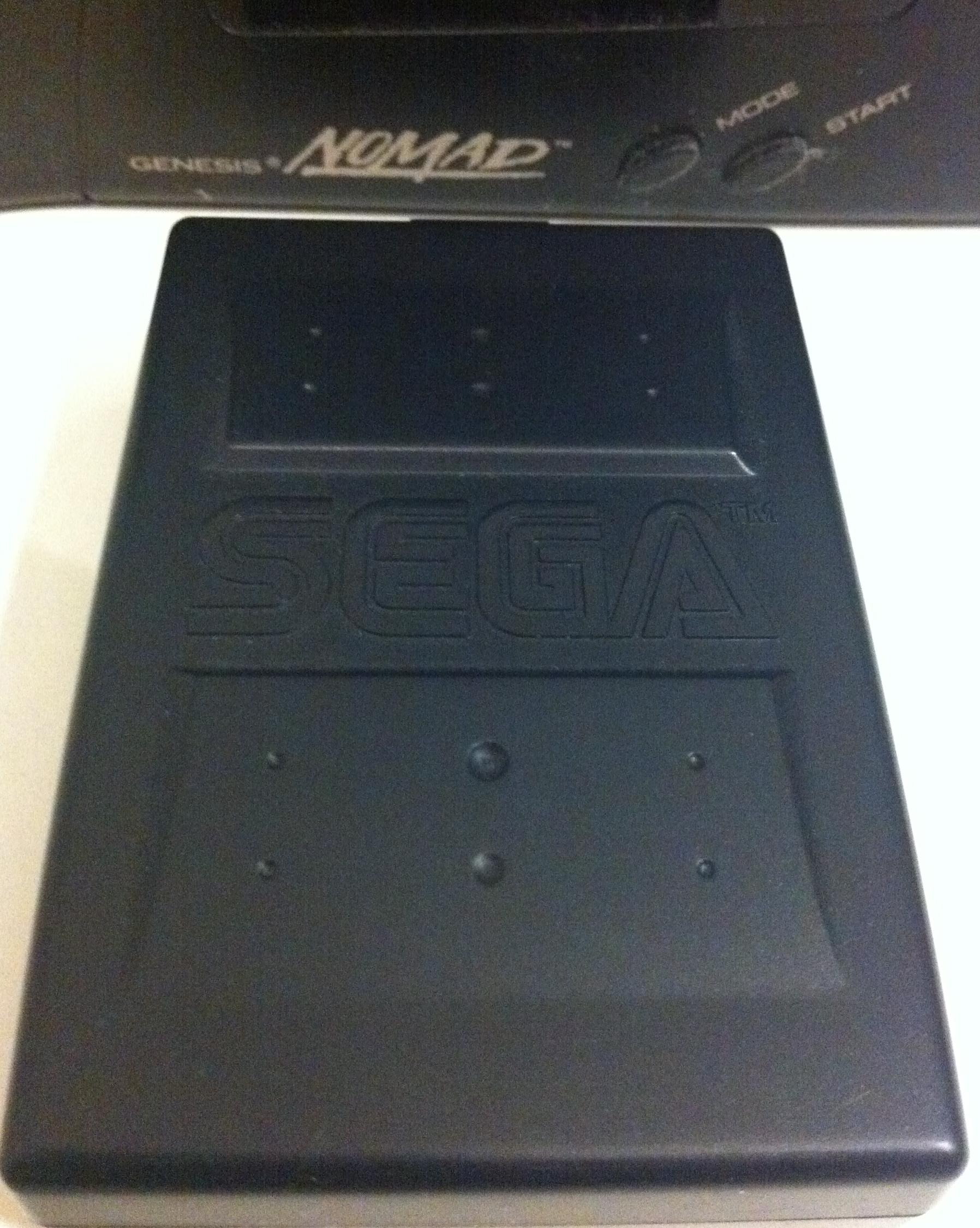 cache piles Sega Nomad