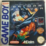 Batman Forever Game Boy Nintendo