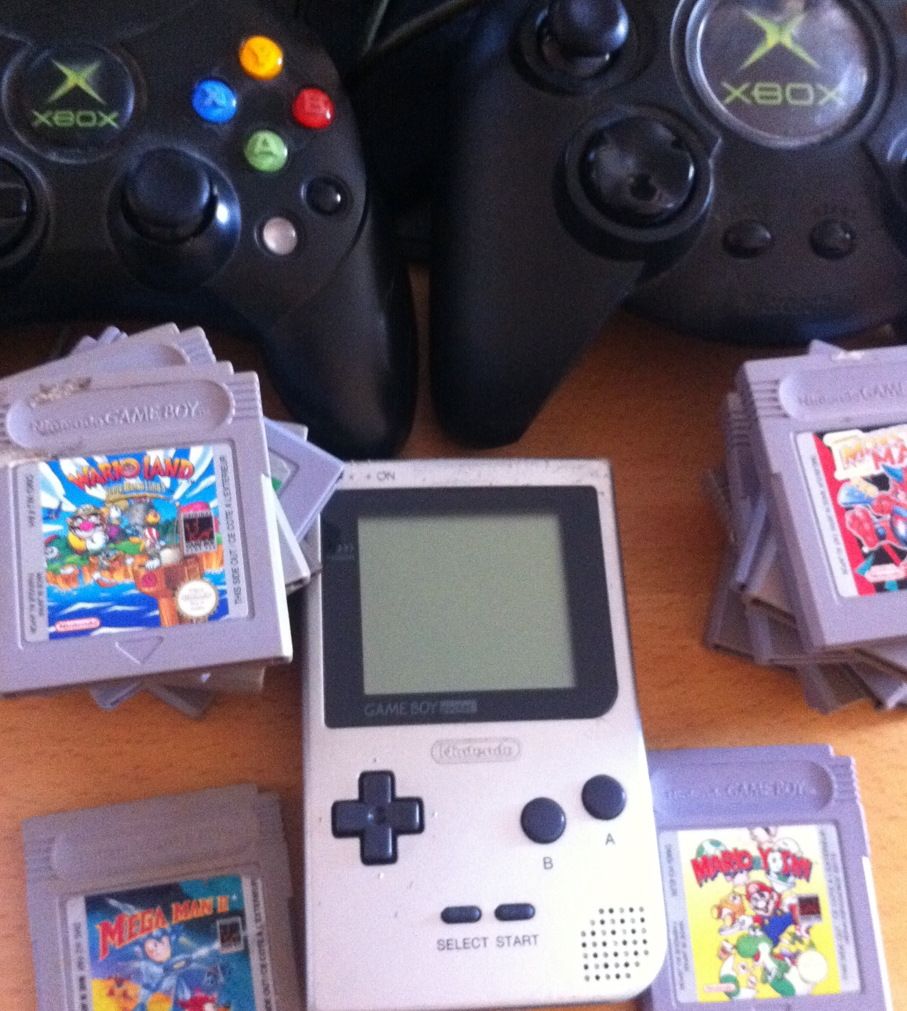 Lot GameBoy et Xbox