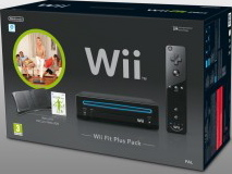 Wii Fit Plus Black Bundle