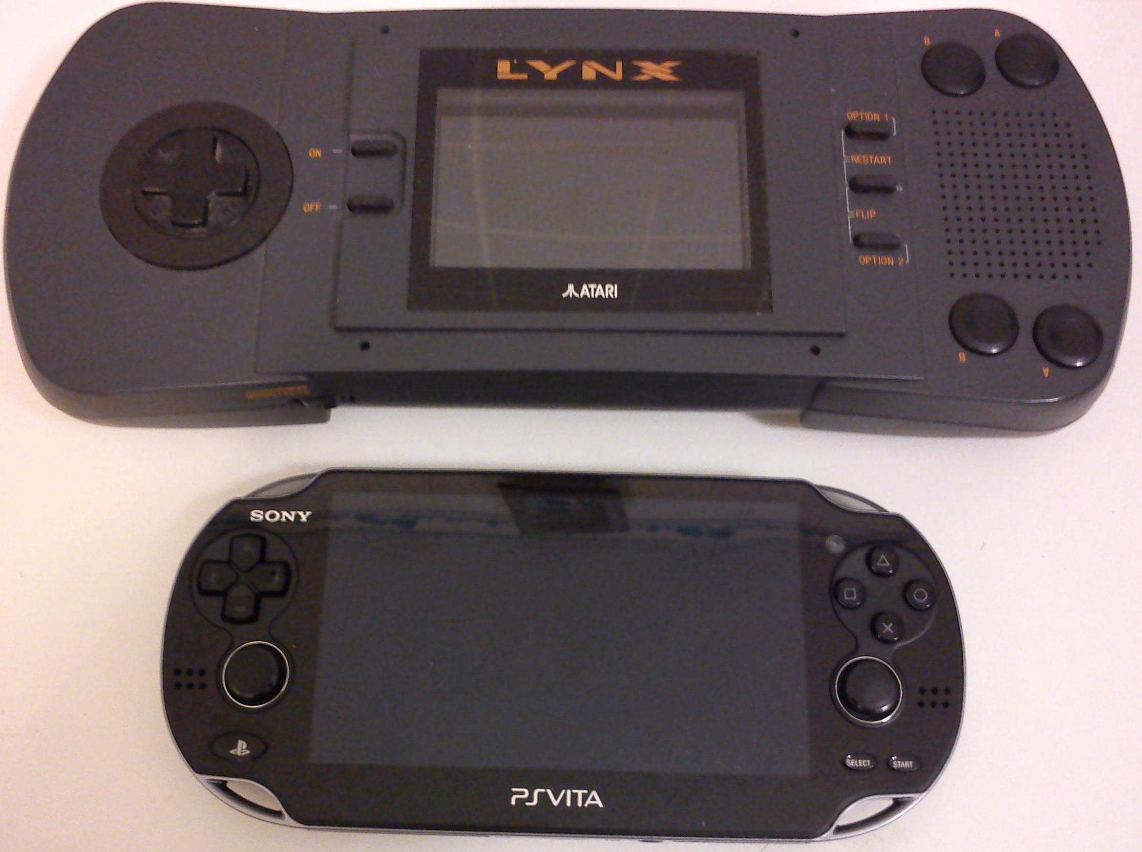 Lynx et Ps Vita