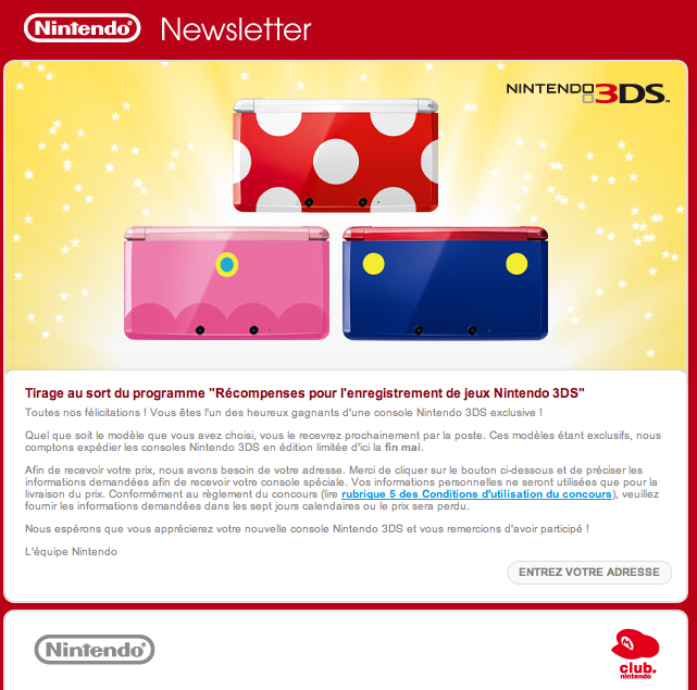 Email Nintendo