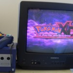 Gamecube en mode Pokémon Play...