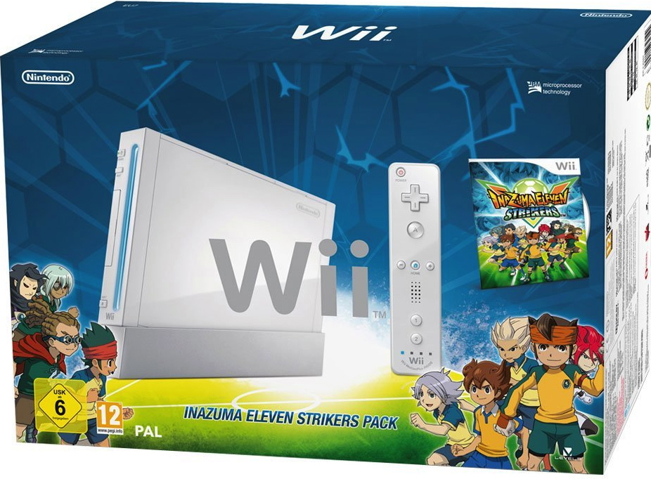 Pack Nintendo Wii Inazuma Eleven