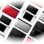 Les différents modèles de 3ds et 3ds Xl en europe