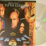 The Fifth Element Laserdisc open
