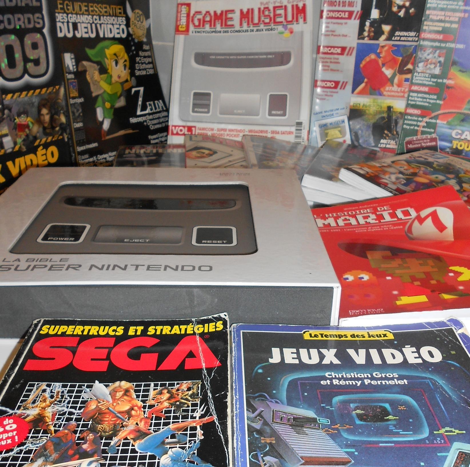Le jeux vidéo dans les livres!!!