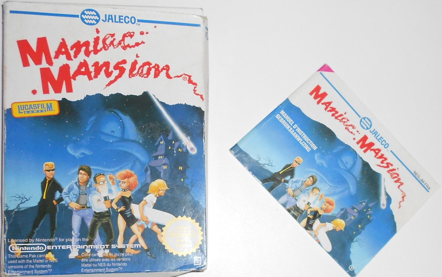 Maniac mansion Nintendo Nes