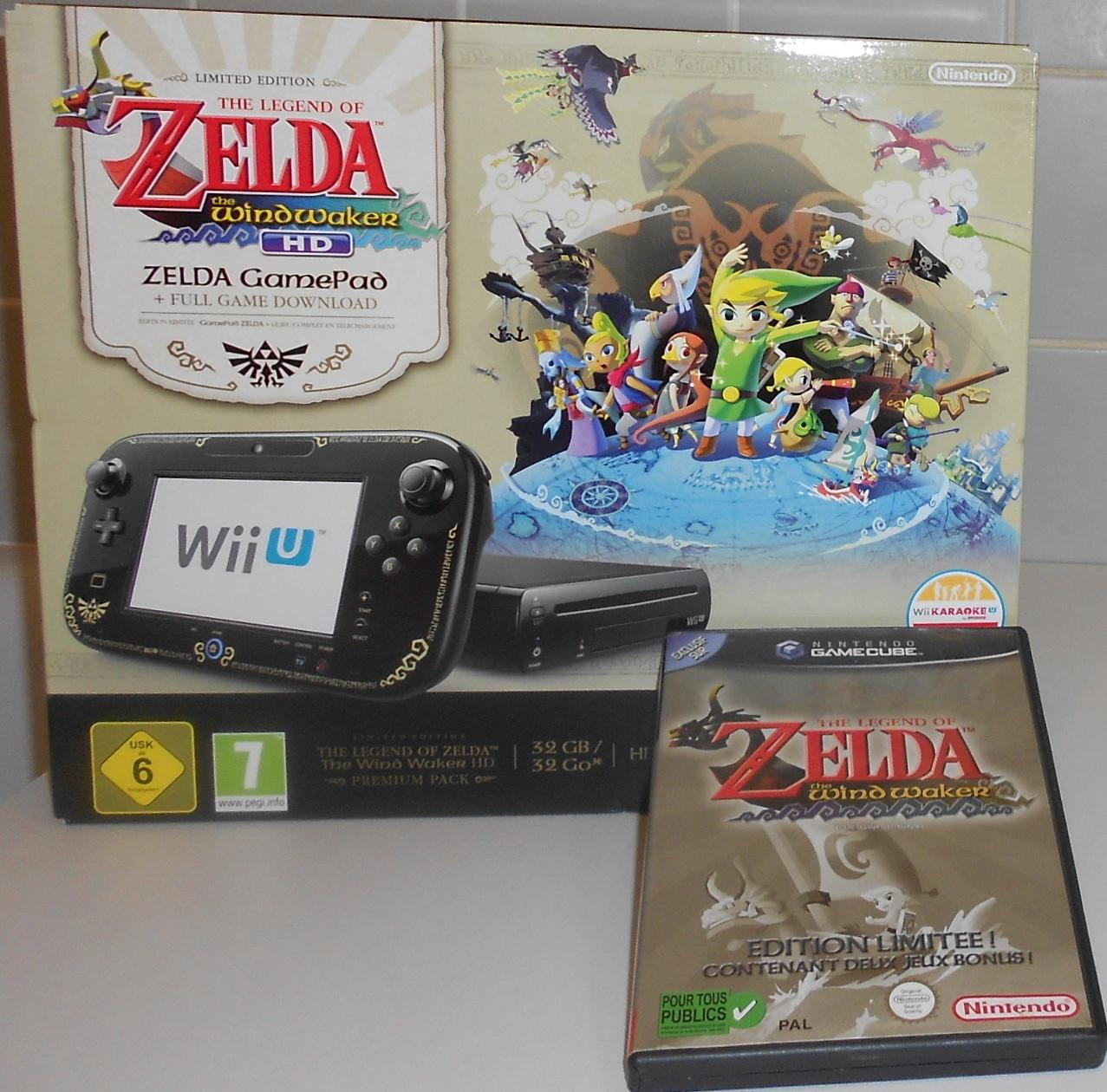 Wii U U pack Zelda