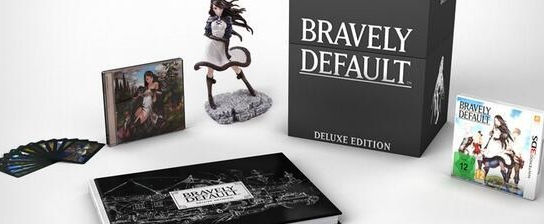 Bravely Default deluxe 3DS