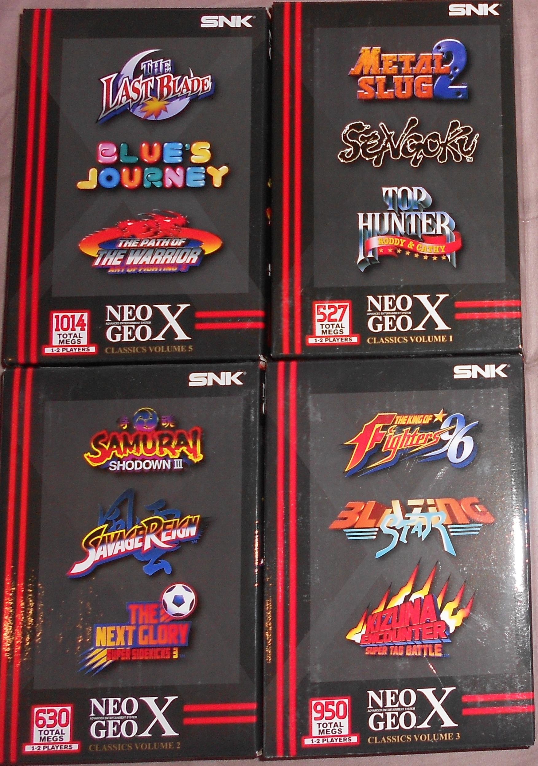 Jeux Neo Geo X